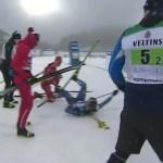 Soome suusatajat rünnanud Vene sportlane võib saada karistuseks võistluskeelu ja suure trahvi