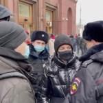 KUUM: Navalnõi abikaasa peeti Moskvas kinni (lisatud video)