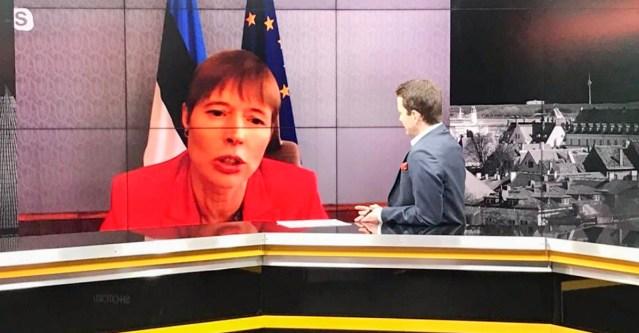 Eesti president kaitses intervjuus Soome telekanalile võimalikult leebeid piiranguid, kuigi riigis on olukord koroonaga väga hull