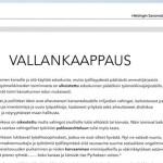 Soome professor ostis 32 000 euro eest ajalehes reklaamipinna, kus süüdistab ametiühinguid riigipöördes