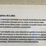 """Soome ehitusobjektil anti töötajatele juhised, kuidas vastata """"õigesti"""" arsti küsimustele koroona kohta"""