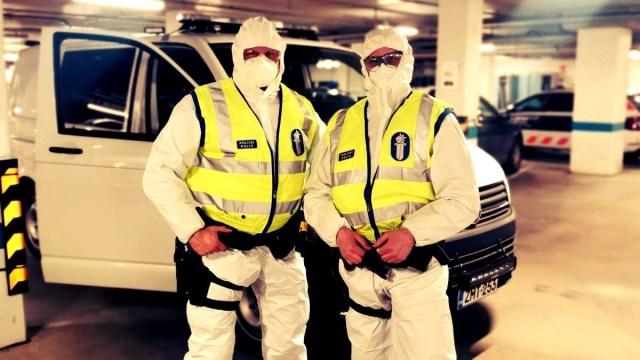 Soome politsei avaldas pildi koroona-aja töörutiinist – kannatanu väitis end olevat karantiinis