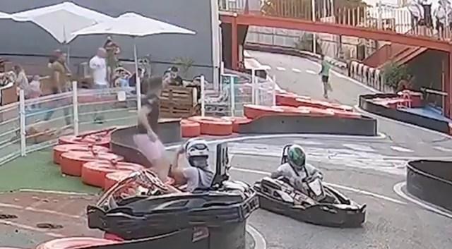 VIDEO: Verdtarretav, aga õnneliku lõpuga kardiõnnetus