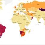 Koroona olukord maailmas: Venemaal kasvab kiiresti nakatumine, samuti Lõuna-Ameerikas ja Aafrikas