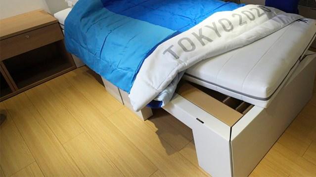 Tokio olümpiasportlastele antakse papist voodid, kus ei saa seksida