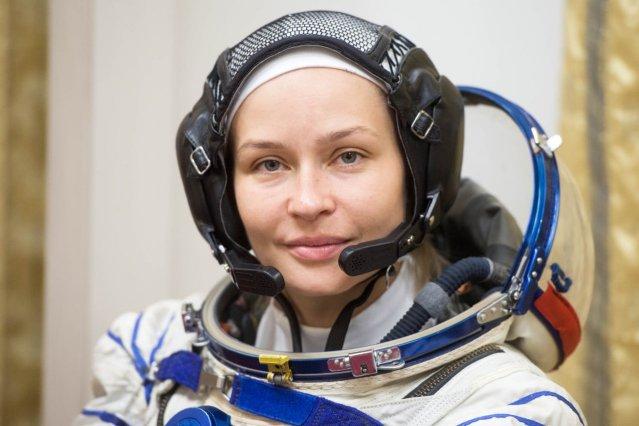 Eesti juurtega Julia Peresild valmistub kosmosereisiks
