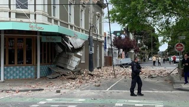 Austraalias oli võimas maavärin, palju purustusi (lisatud video)