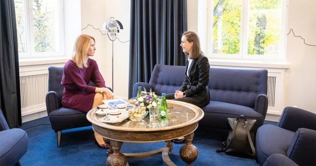 Eesti ja Soome peaministrid avasid renoveeritud Eesti saatkonnahoone Helsingis
