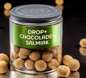 Drop met chocolade