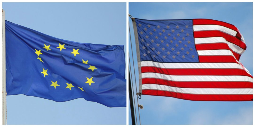 EU US FLAGS - eEuropa 2019