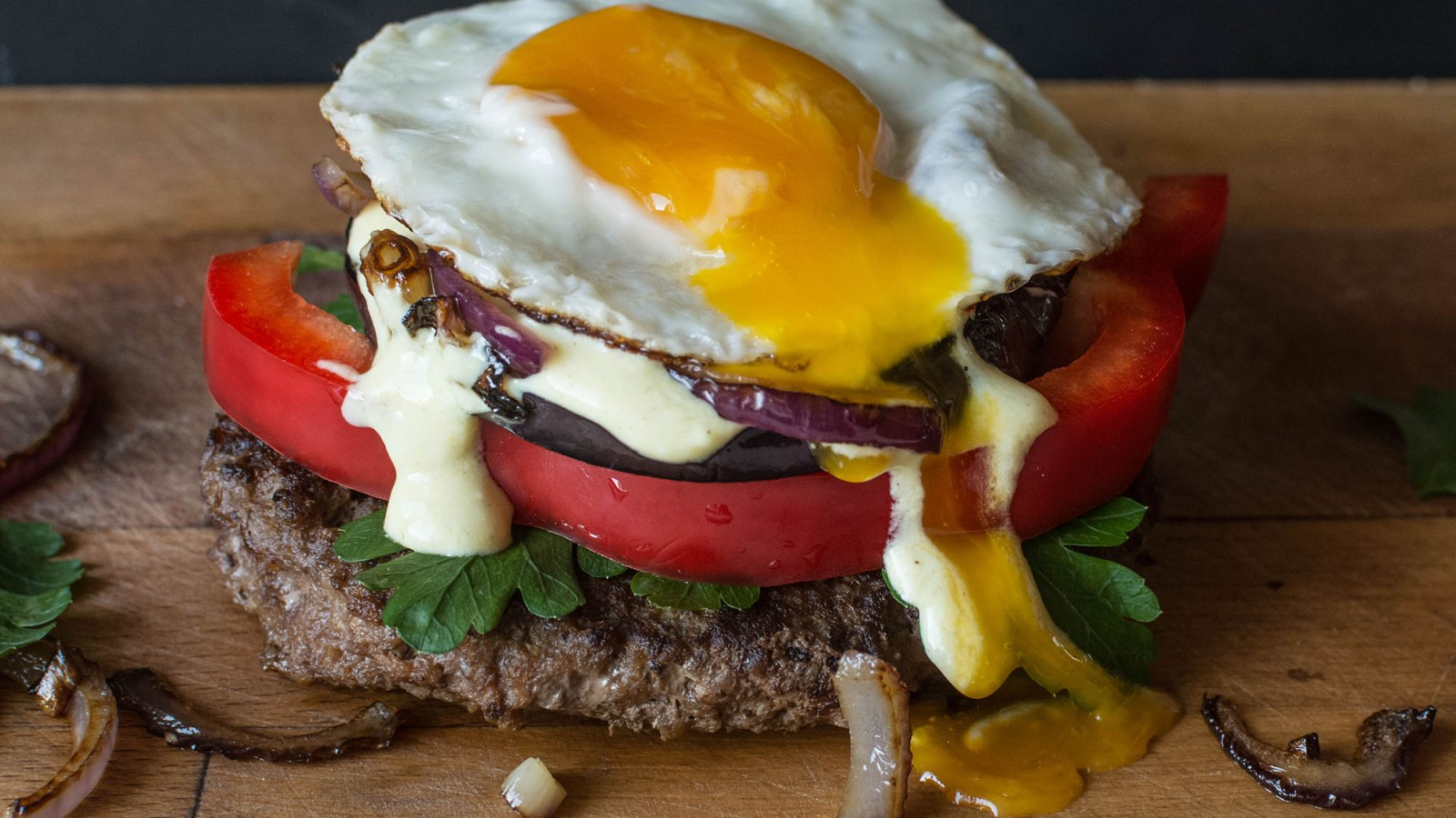 hamburger zonder brood