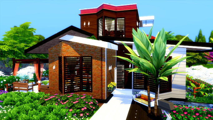 sims 4 homes by eevam
