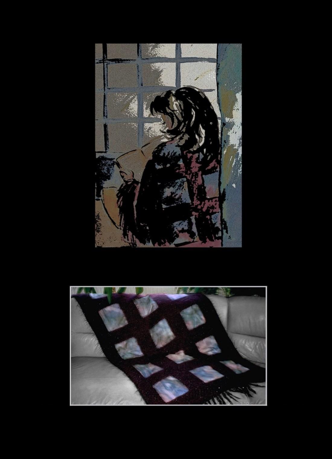 Ikkuna-torkkupeitto