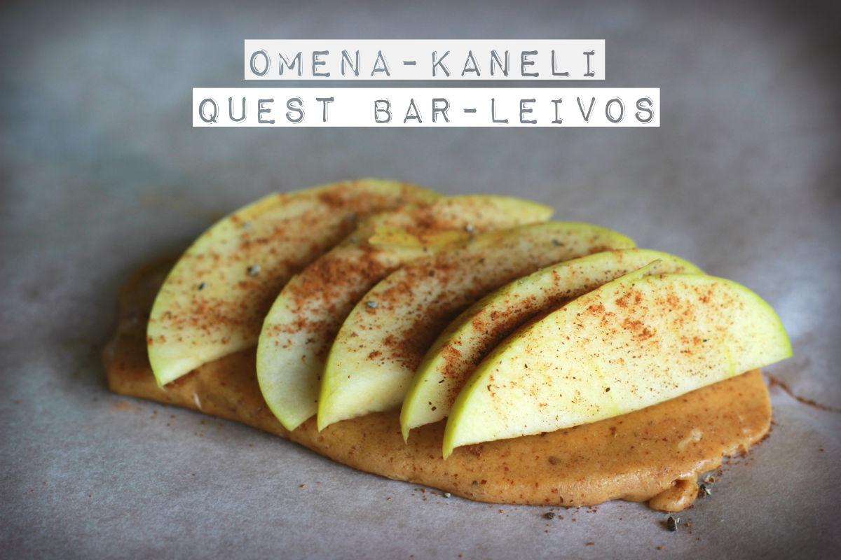 Minifitness_questbar leivos_helppo resepti_herkkuja helposti