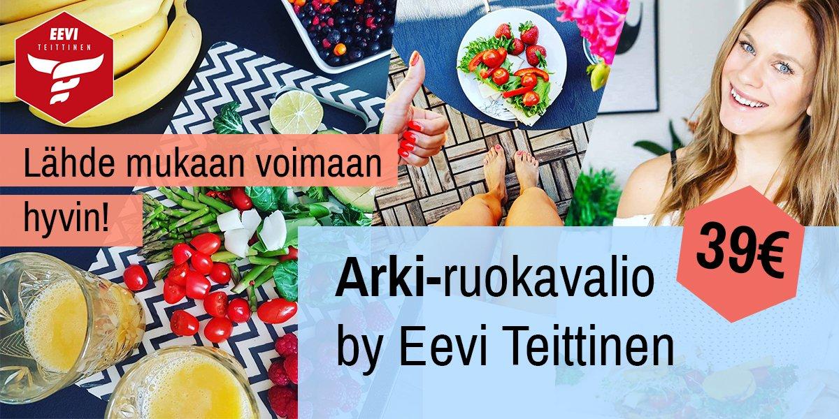 Eevi Teittinen - Arki-ruokavalio