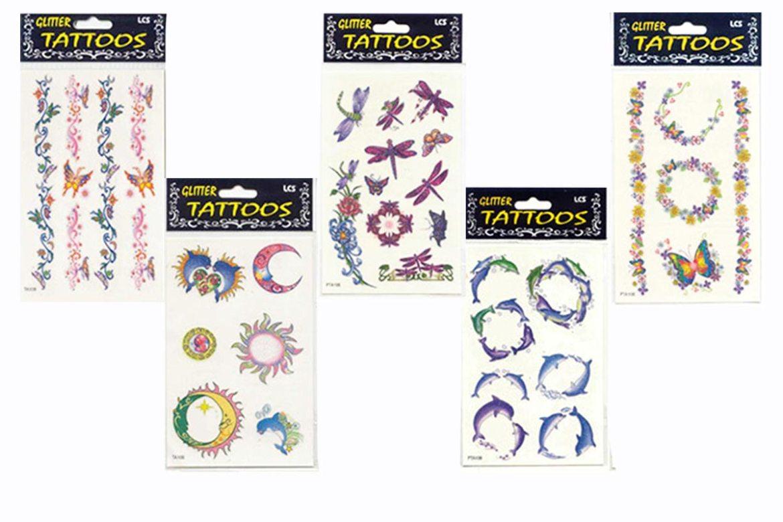誼源國際客製化紋身貼紙印刷