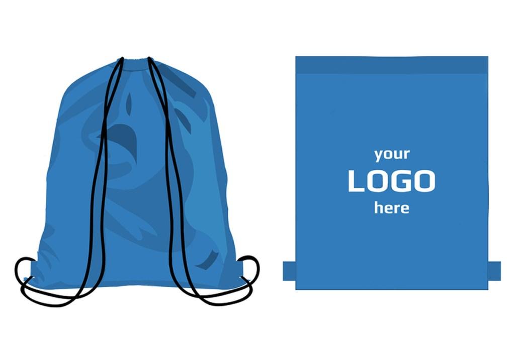 誼源運動束口袋訂製印上logo設計圖