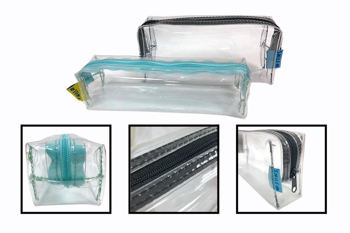 訂製PVC透明防水筆袋車縫-誼源國際客製化提袋推薦 PVC透明提袋 客製印刷、防水包裝、時尚耐用作為週年慶贈品、企業禮品 、 學校招生、畢業禮物、 尾牙禮物、活動贈禮, 股東會紀念品、品牌紀念品…等都適合 。耐用透明提袋客製PVC手提袋包製透明筆袋客製透明化妝包客製果凍袋客製