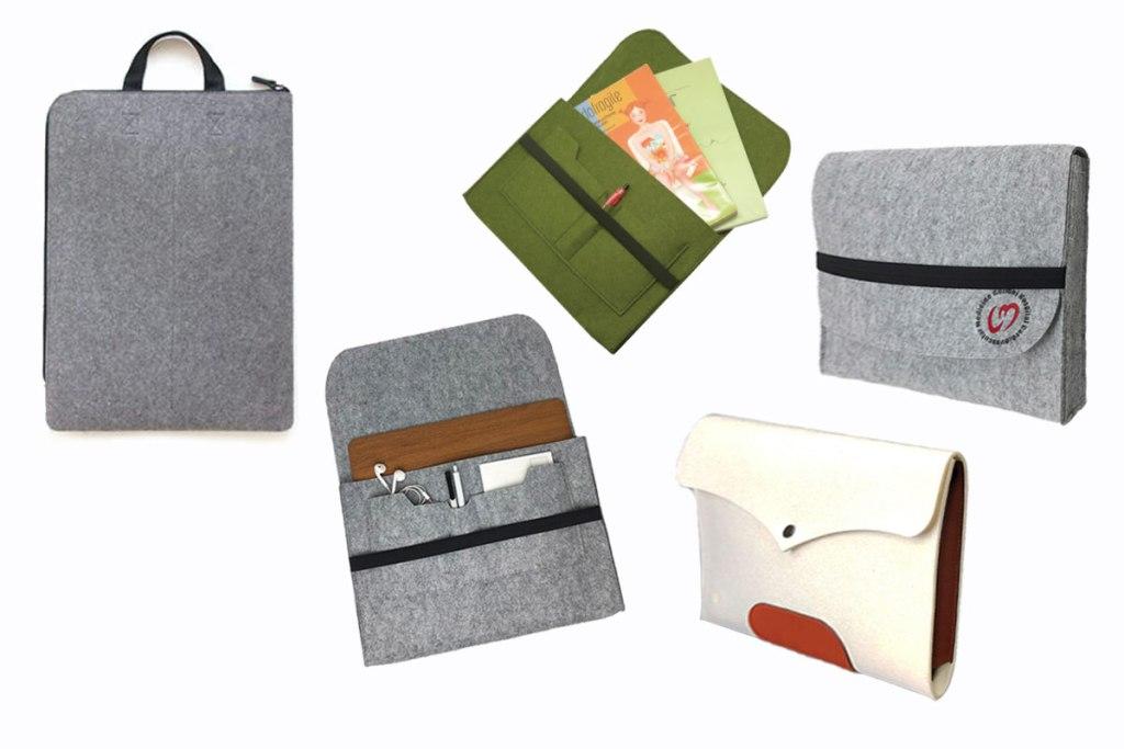 訂製羊毛氈電腦公事包-誼源國際