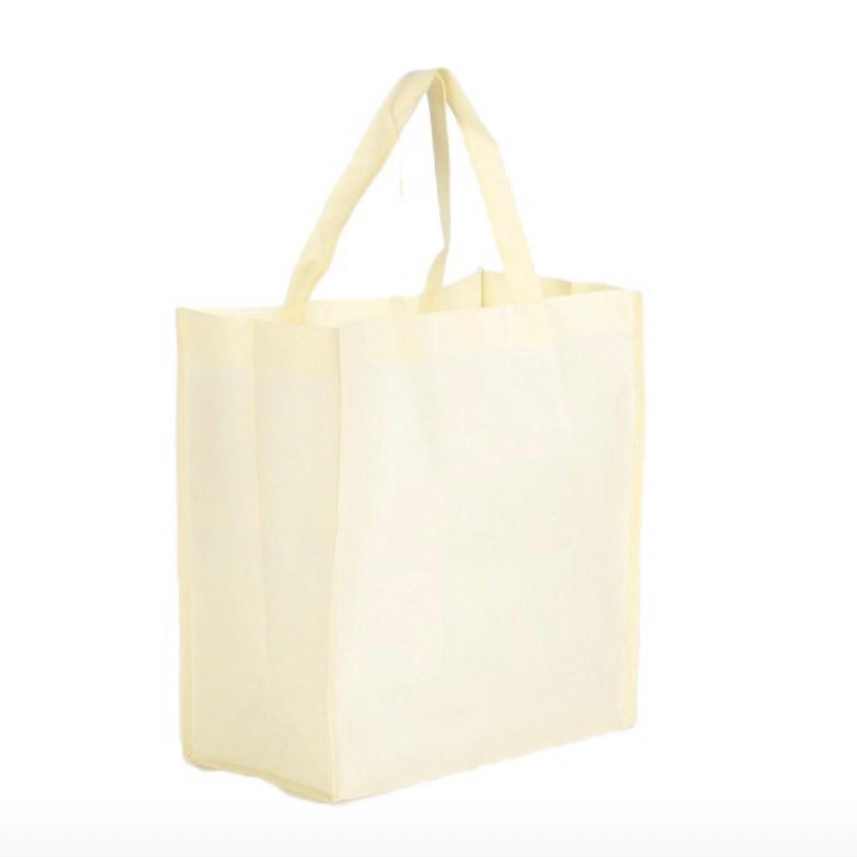 外帶自取環保購物袋客製不織布袋子