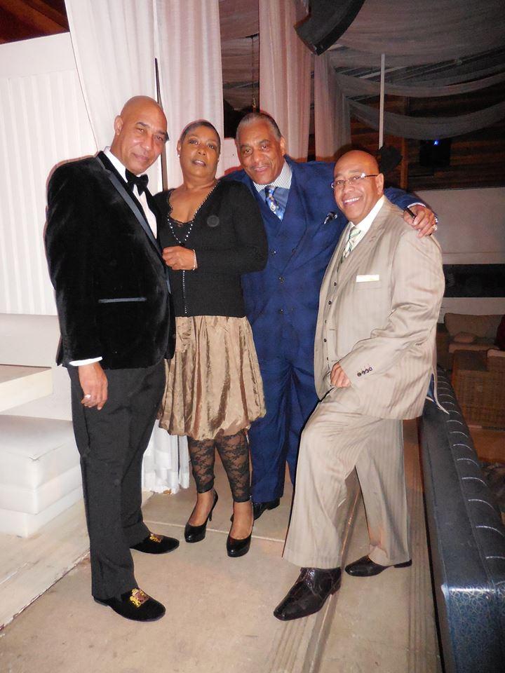 Eugene Sidney, Marsha Powell, Doug Pope, and Mr. Dubie