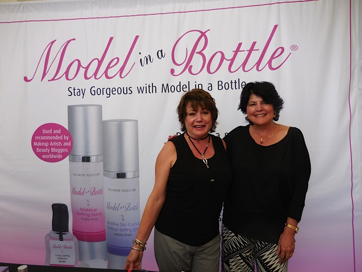 Kim and Jill, who founded Model in a Bottle