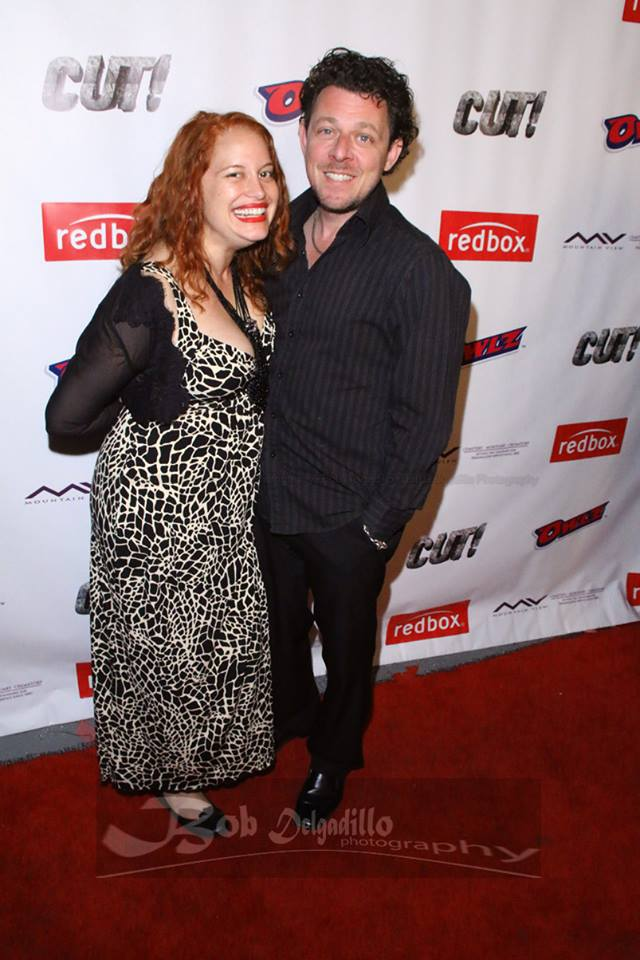 Lovesick Fool cast members Renee Rivera and David Polcino show their support
