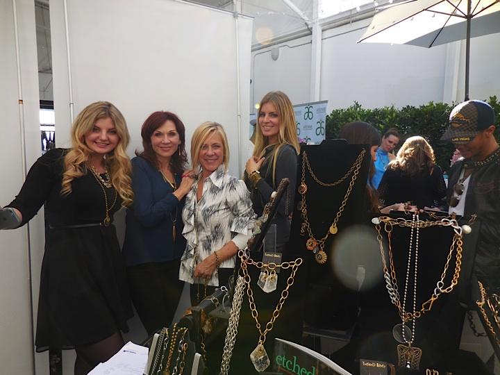 Alexandra Telford, actress Marilu Henner, Deborah Mitchell, founder of Twisted Silver and Melinda Telford