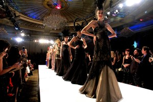 Models sashay down the runway. Photo courtesy of Winston Burris/Burris Agency