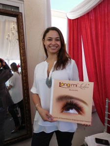 Jennifer Juvenelle of Longmi Lash Salon in Beverly Hills