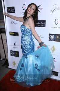 I rocked the red carpet in Shekhar's beautiful Mermaid dress. Hair by Becky at Drybar and makeup by Myia at Blushington