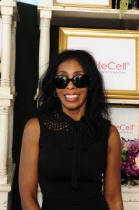 Khandi  Alexander at the GBK Pre-EMMYS Gift Lounge. Photo by Amy Graves/Getty Images for GBK Productions