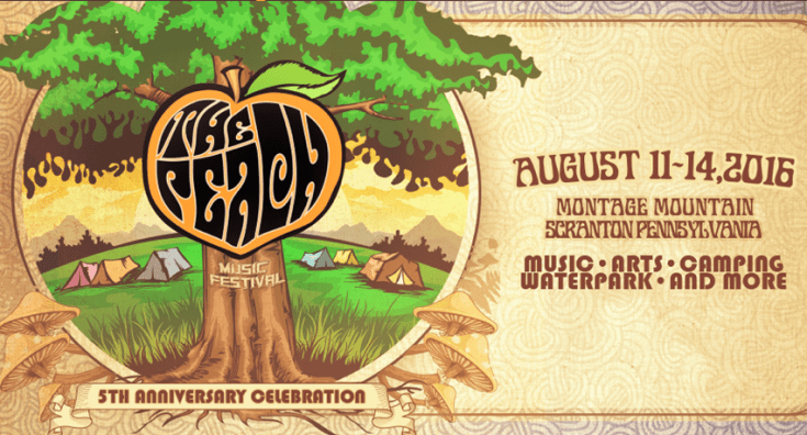 The Peach Music Festival 2016