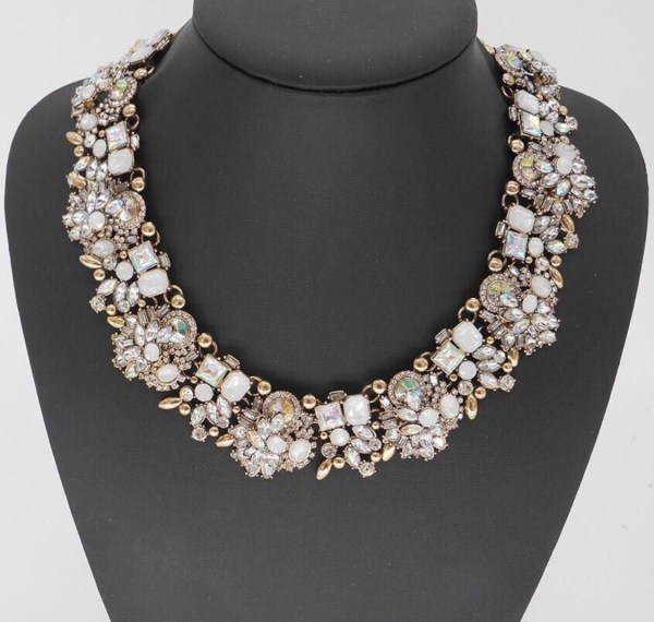 "The  ""Regal"" vintage-inspired necklace by Madison & Mulholland"