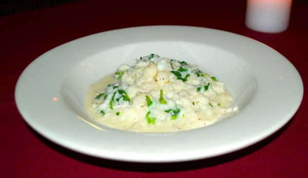 Amazingly creamy and delicious risotto