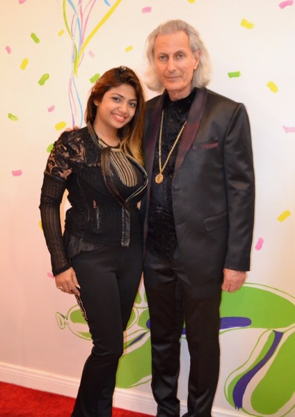 Fashion Designer Sai Suman with Experience Magazine's Publisher Erwin Glaub