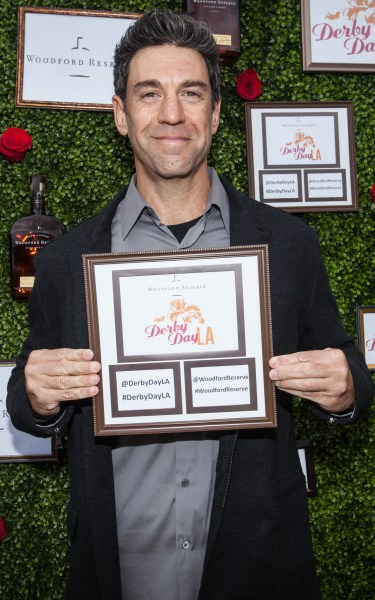 DJ Rich Rubin proudly supports Woodford Reserve. Photo courtesy Andrew Arnold
