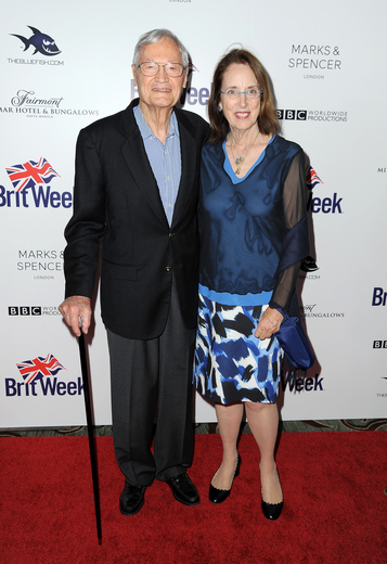 Producers Roger Corman (L) and Julie Corman attend BritWeek's 10th Anniversary VIP Reception & Gala at Fairmont Hotel on May 1, 2016 in Los Angeles, California. (Photo by Angela Weiss/Getty Images for BritWeek) Photo Credit - Getty Images for BritWeek