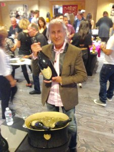 Erwin Glaub at the WALLY'S GRANDE MARQUE 25TH ANNUAL CHAMPAGNE TASTING