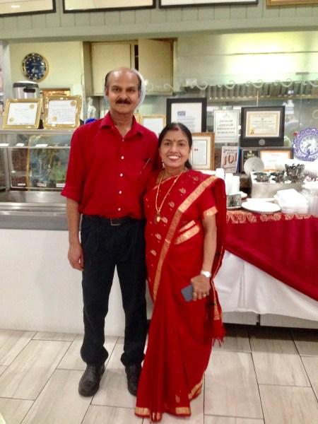 Proprietors of Mayura - Anil and Dr. Padmini