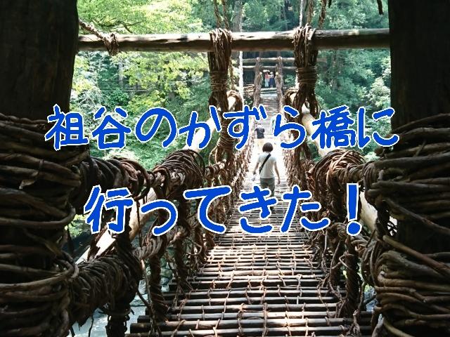 祖谷のかずら橋へ行く際の4つの注意点。遠いけど行く価値あり!