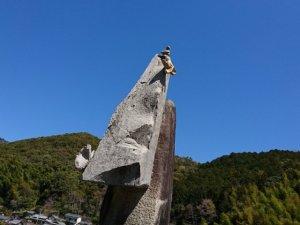 かわうその銅像4