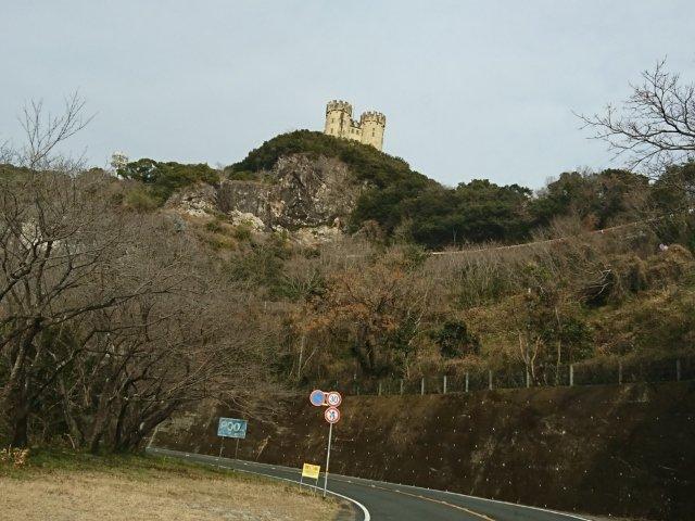 三宝山にあるお城(シャトー三宝山)