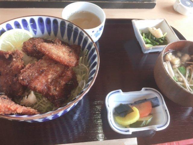 土佐茶カフェの定食