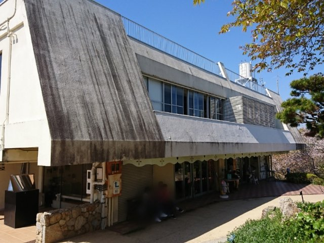 五台山公園のカフェ「パノラマ」