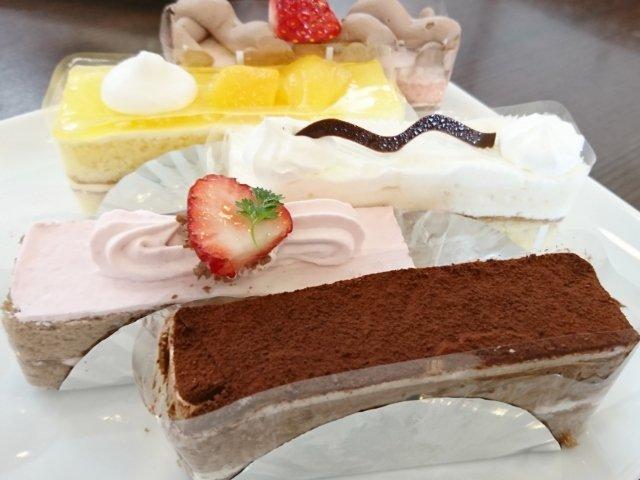 ストロベリーフィールズのケーキ5種類