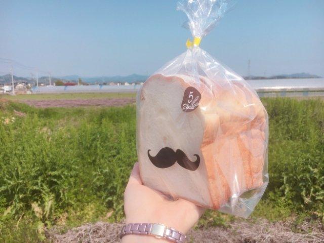 カムリで買ったパン