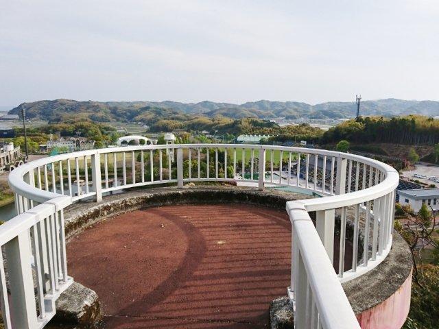 春野運動公園の展望台
