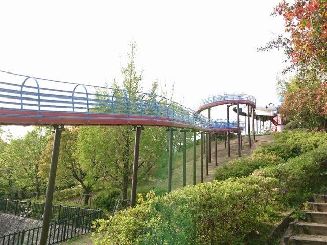 春野運動公園のローラー滑り台