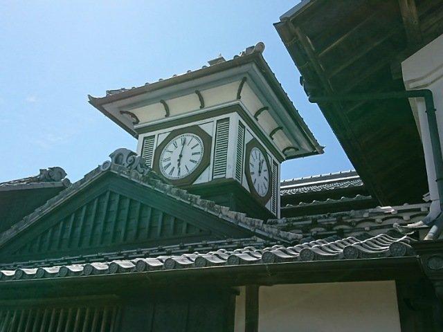 安芸市の野良時計